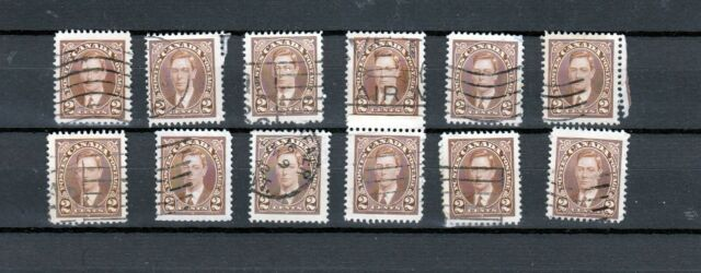 Canada Lot M  of  #232