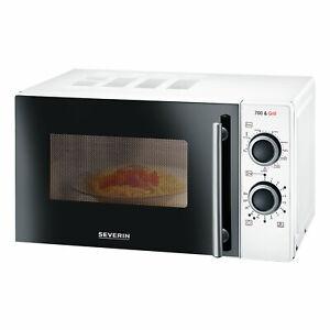 Severin-MW-9283-Mikrowelle-Microwave-mit-Grillfunktion-Auftauen-Timer-2in1-20-L