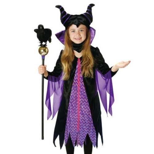 Maleficent Child Costume Halloween RUBIE/'S 95321M Disney Japan New F//S