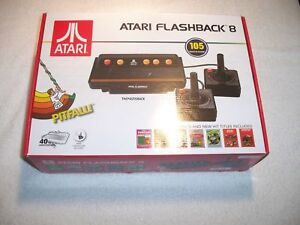 Atari Flashback 8 Game Console Retro 100 Built In Games With 2