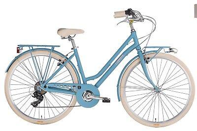 """Bicicletta Donna Mbm Mod. Apostrophe 807d/19 - 28"""" - 7s - H46 - Alluminio"""