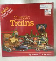 Classic Trains Jigsaw Puzzle Shaped Lewis T Johnson 700 Pieces