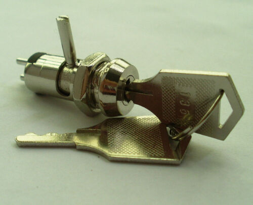 5x Metal Key Switch ON//OFF /& Electronic double function 10keys /& Lock Machinery