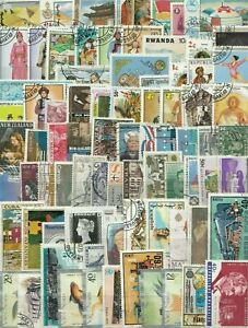 Worldwide-Stamps-2000-Different-Collection-Mixture-Packet-Stamps-For-Collectors