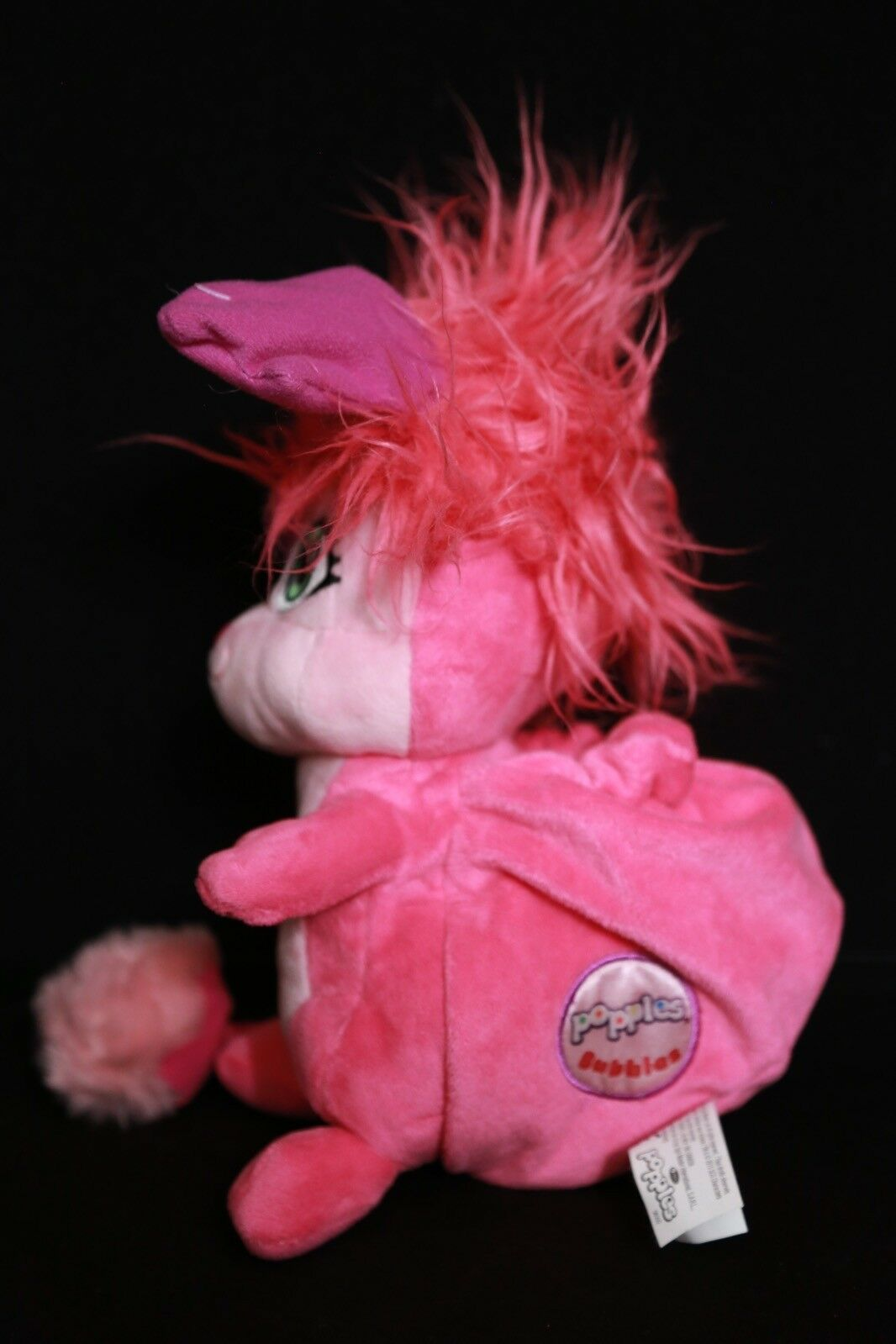 Popples BUBBLES Pink Plush Plush Plush Toy Doll w  Sound 4167db
