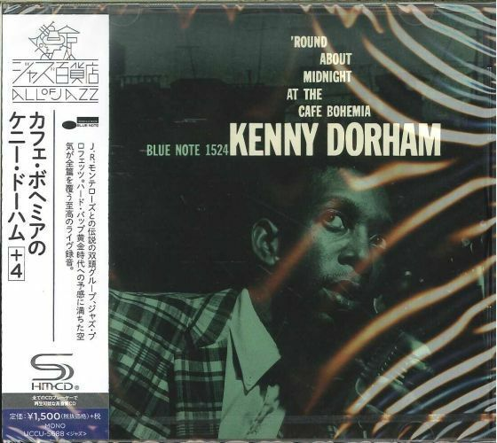 KENNY DORHAM-ROUND MIDNIGHT AT THE CAFE BOHEMIA -JAPAN SHM-CD C94