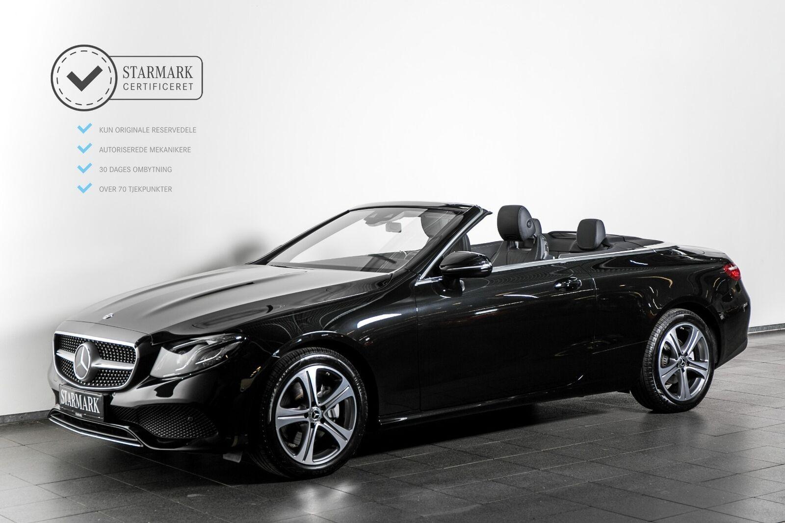 Mercedes E200 2,0 Cabriolet aut. 2d - 769.900 kr.
