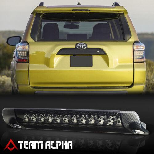LED Third 3rd Brake Light Tail Lamp Chrome//Smoke Fits 2010-2016 Sienna//4Runner