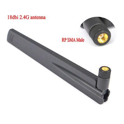 18dBi 2.4G WiFi antenna RP-SMA male WLAN router antenna connector booster DQY