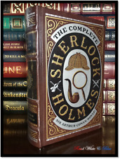The Complete Sherlock Holmes by A. C. Doyle New Sealed Leather Bound Hardback