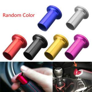 Universal Drift Spin Turn Aluminum E-Brake Handle Brake Lock Button Knob Purple