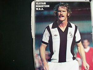 WEST BROMWICH ALBION PLAYER  ALISTAIR ROBERTSON 1970s  1980s Signed - WEST MIDLANDS, United Kingdom - ALL ITEMS DISPATCHED WITHIN 3 WORKING DAYS OF PAYMENT. Most purchases from business sellers are protected by the Consumer Contract Regulations 2013 which give you the right to cancel the purchase within 14 days after the da - WEST MIDLANDS, United Kingdom