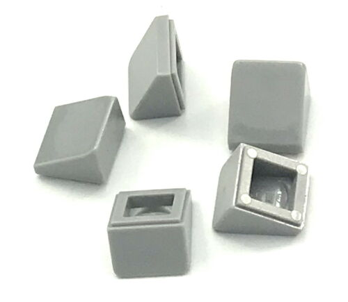 Lego Lot of 5 New Light Bluish Gray Slopes Sloped 30 1 x 1 x 2//3 Pieces