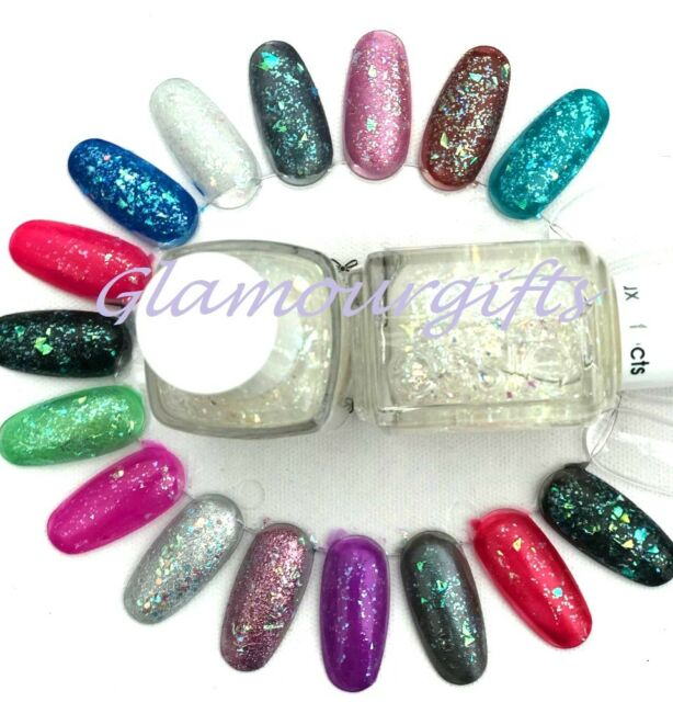 Essie Lux Effects Silver Glitter Nail Polish 3018 Sparkle On Top 135ml