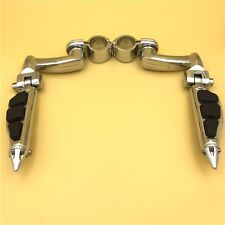 "Adjustable 1.5"" FootPeg Kit For Honda GoldWing VTX1300 Shadow Valkyrie Chrome"