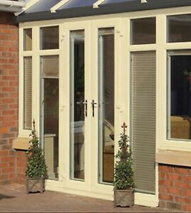 Cream upvc french door patio doors 1590mm x 2090mm brand new image is loading cream upvc french door patio doors 1590mm x planetlyrics Gallery