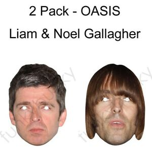 Noel Gallagher From Oasis Card Face Mask All Our Masks Are Pre-Cut!