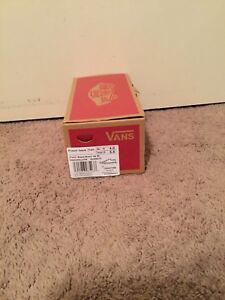 22fb37469a Vans Prison Issue Twill Black Blanc De Blanc No Lace Canvas Shoes ...