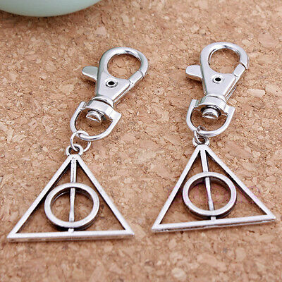 1 pc Movie Deathly Hallows Mini Metal Tool Key Chain Keyring For Harry Potter