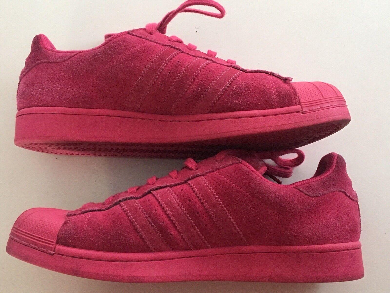 Adidas Originals AQ4166 Superstar Adicolor Men's Shoes AQ4166 Originals Suede Equity Pink 10 1/2 8948ec