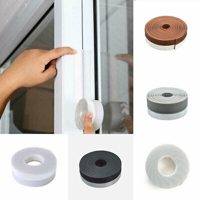 3M 1 Meter 25mm Clear Door Bottom Seal Draught Excluder Sweep Stick On door Tape