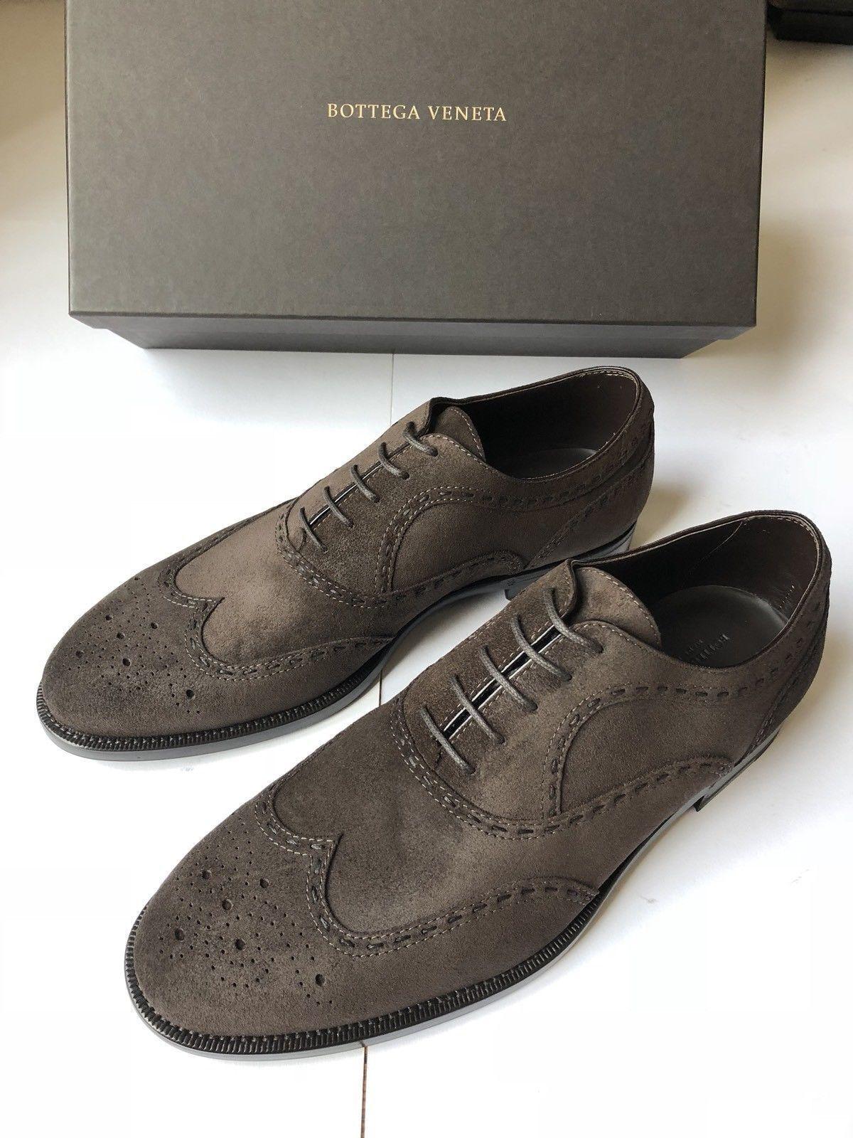 BOTTEGA VENETA Nottingham scarpe Calf Suede Leather US 9 EU 42   NEW