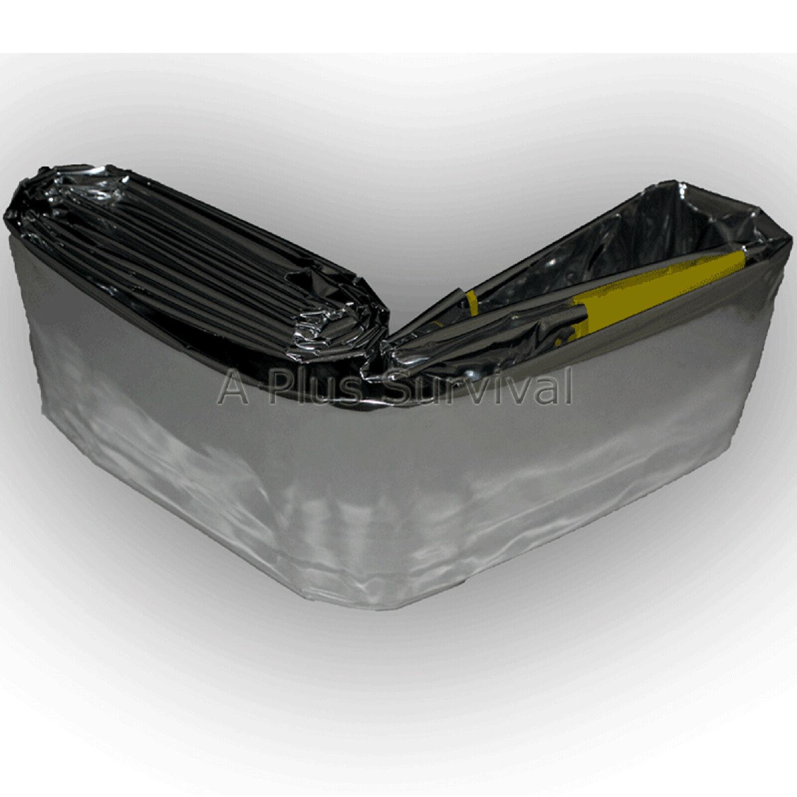 Lot of 10 Emergency Kit Survival Thermal Mylar Solar Sleeping Bag 84  x 36