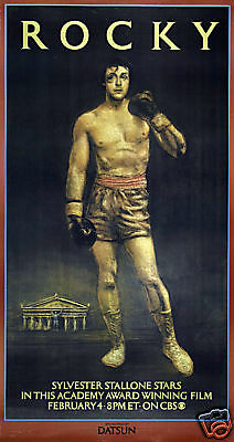 Rocky Sylvester Stallone cult movie poster print #12