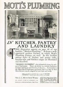 1910s Original Antique Mott Retro Kitchen Decor Art Print Ad Ebay
