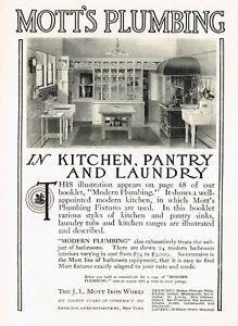 1910s Original Antique Mott Retro Kitchen Decor Art Print Ad Ebay