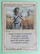 MTG MAGIC Carte SWORDS TO PLOWSHARES ext. REVISED 3rd Édition