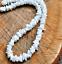White-Hawaiian-18-034-Chipped-Puka-Sea-Shell-Necklace-Surfer-Choker-Shell-Necklace miniatura 1