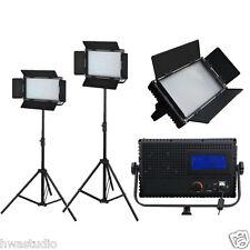 576ALDx2 2 Panel LED luz Estudio Luz de día Pantalla Táctil LCD película Regulable 2