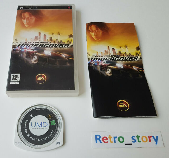 Sony PSP - Need For Speed Undercover - PAL