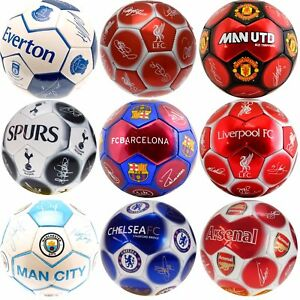 OFFICIAL-SIZE-5-LICENSED-FOOTBALL-CLUB-SIGNATURE-MATCH-BALL-SPORTS-TEAM-BALLS