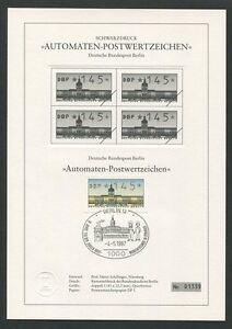 Limitiert ! Z1512 Dinge FüR Die Menschen Bequem Machen Black Print Ltd Berlin Atm Schwarzdruck 1987 145 Pfg