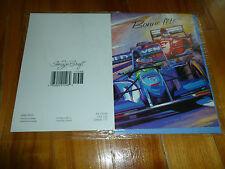 "-K GREETING CARD FRENCH ""BONNE FÊTE"" BENETTON FORD 1994 SCHUMACHER F1 NEW !"