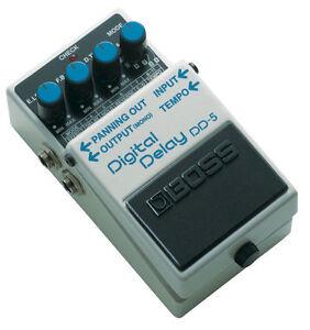 boss dd 5 delay guitar effect pedal ebay rh ebay com Boss Delay DD 3 Boss Delay DD 3