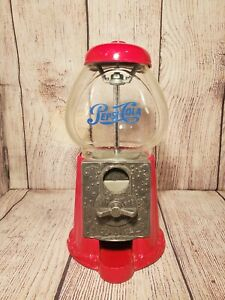 Vtg Pepsi Cola Collectible Gumball Machine Countertop Store Display Carousel