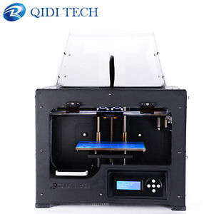 New arrival ! QIDI TECH desktop 3D Printer print with 1.75mm abs pla