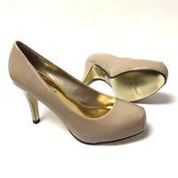 Women's Pierre Dumas Medium Classic Pumps Synthetic High Slim Heels Work Party