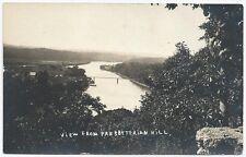RPPC ~ White River View from Presbyterian Hill near Branson Missouri 1921