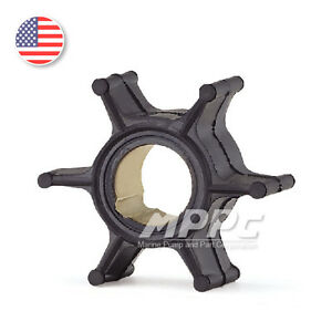 Water-Pump-Impeller-for-Johnson-Evinrude-OMC-Outboard-9-9-15-HP-386084-0386084