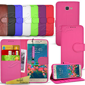 best loved d8eb3 85d02 Details about For Samsung Galaxy J5 PRIME -Wallet Leather Case Flip Cover +  Screen Protector