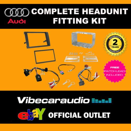 Connects 2 CTKAU 04 Audi A4 2007 doble DIN Radio Kit de instalación