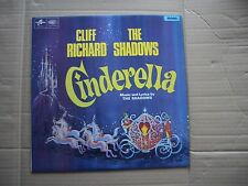 CLIFF RICHARD & THE SHADOWS - CINDERELLA - ORIGINAL MONO VINYL LP - FLIPBACK