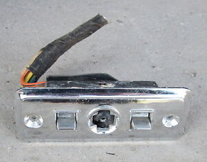 image is loading 1966-cadillac-power-seat-switch-chrome-for-parts-