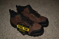 Iron Age Industrial Waterproof Steel Toe Size 11 Comfortable Work Shoes