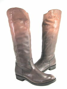 DOLCE VITA WOMEN'S PEPE KNEE-HIGH BOOTS BROWN LEATHER US SIZE 7 MEDIUM (B)M
