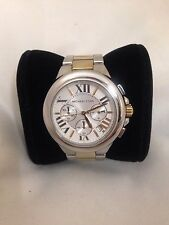 LADIES MICHAEL KORS 2 TONED CHRONOGRAPH WATCH MK5653